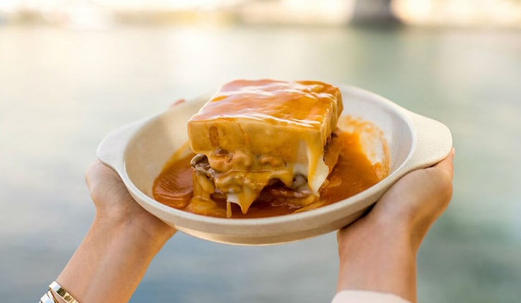 Francesinha: this is something you have to do whenever you come to Porto.