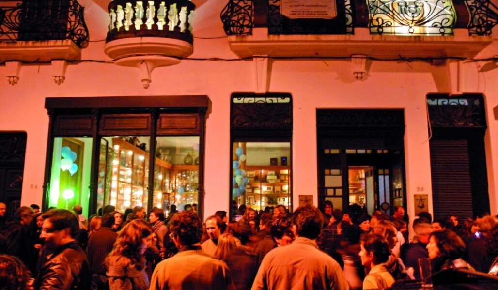 Have fun into the small hours in the Galerias de Paris