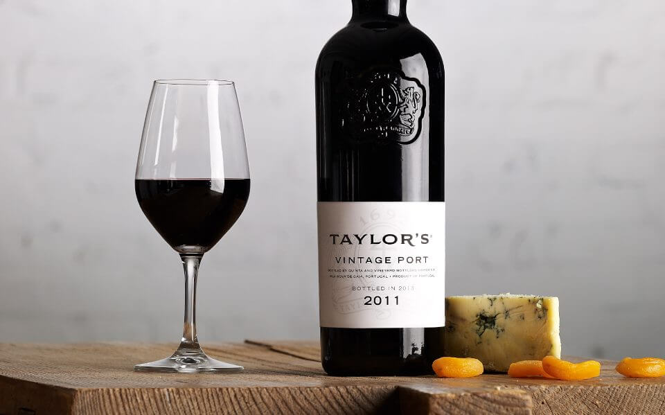 Taylors Vintage Port Wine - WOW